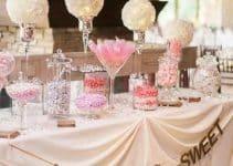 4 estilos de mesa de dulces para cumpleaños