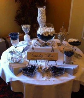 mesa de dulces para cumpleaños de hombres