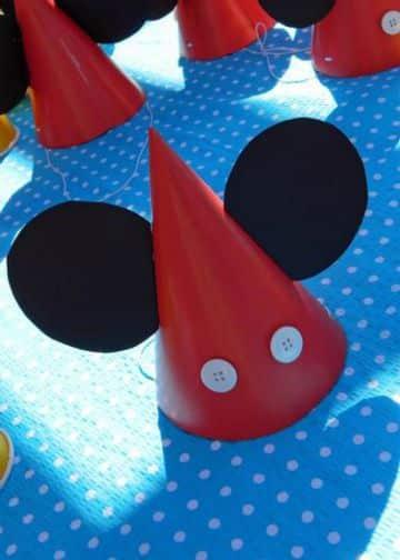 tematica de mickey mouse para cumpleaños