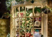 Tecnicas para crear unas ventanas decoradas de navidad