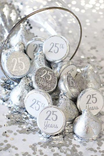 como celebrar una 25 años boda de plata