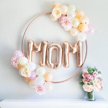 como hacer decoraciones por el dia de la madre