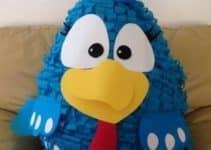 Como hacer unas piñatas de gallina pintadita