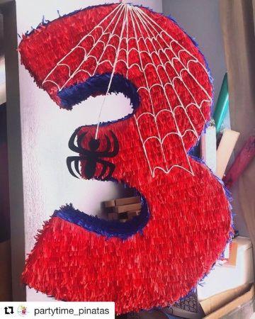 como hacer piñatas del hombre araña