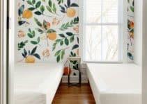 4 encantadoras ideas con papel decorativo para pared