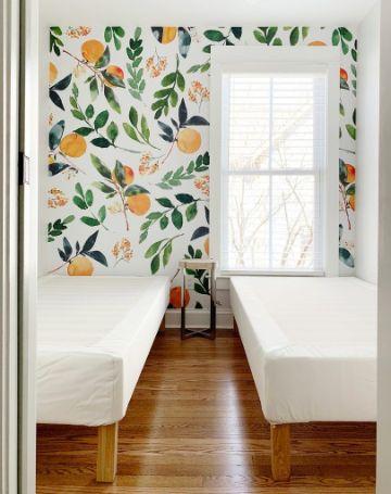 como instalar un papel decorativo para pared