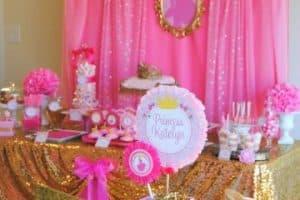 Ideas para una decoracion para cumpleaños de princesa