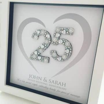 decoracion para 25 años boda de plata