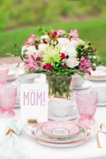 decoraciones por el dia de la madre para almuerzo