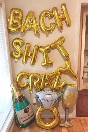 despedidas de soltera caseras con globos