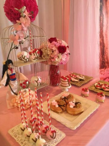 dulces para fiesta infantil de niña