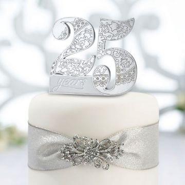 ideas para 25 años boda de plata