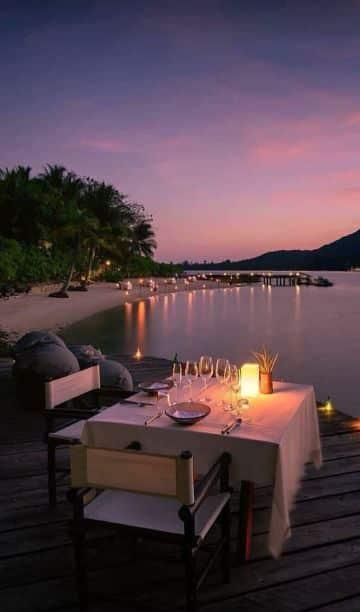 ideas para decoracion para cena romantica