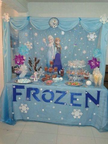 ideas para decoraciones de frozen de cumpleaños