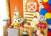 Como hacer una fiesta tematica de la granja de zenon