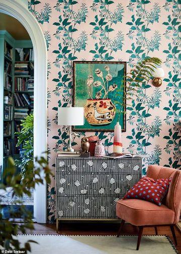 papel decorativo para pared para la sala
