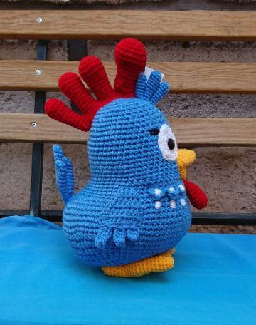 piñatas de gallina pintadita para fiestas