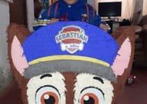 4 hermosas piñatas de paw patrol para niños