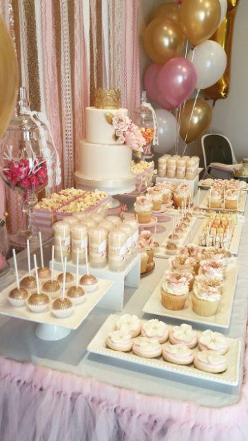 tematica para mesas de dulces para 15 años