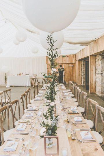 centros de mesa con globos para boda con globos grandes