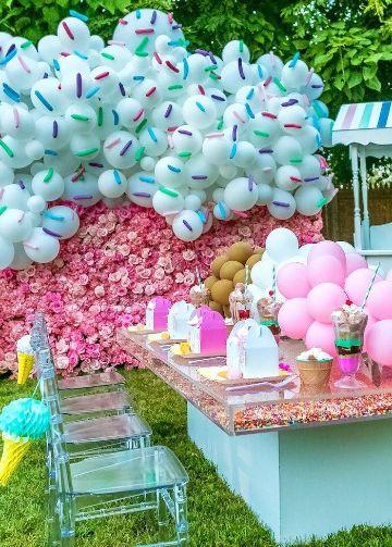 como decorar la mesa de cumpleaños para niños