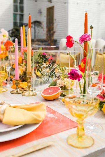como decorar una mesa de cumpleaños para amigas