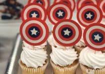 4 increíbles decoraciones de capitán américa para fiestas