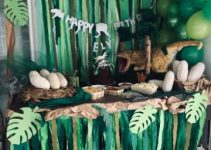 Hermosa decoracion de dinosaurios para cumpleaños infantiles