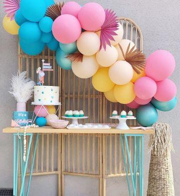 decoracion de cumpleaños para mujer sencilla paso a paso