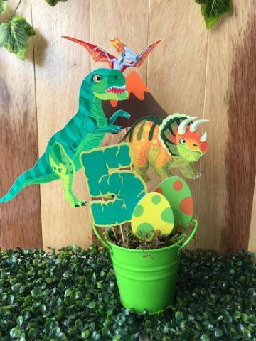 decoracion de dinosaurios para cumpleaños infantiles