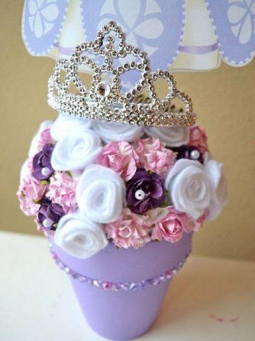 decoracion de la princesita sofia facil