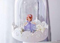 Ideas para hacer una hermosa decoracion de la princesita sofia