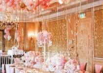 4 ideas extravagantes para decoracion de techos con globos