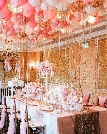 decoracion de techos con globos paso a paso