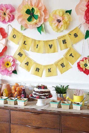 decoracion para fiestas infantiles sencillas en casa