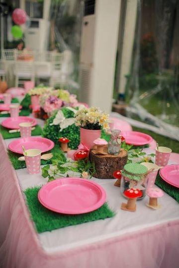 fiestas infantiles en jardin para niñas