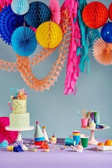 ideas para como decorar en una fiesta infantil