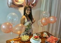4 tipos de decoracion de cumpleaños para mujer sencilla