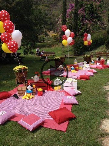 ideas para fiestas infantiles en jardin