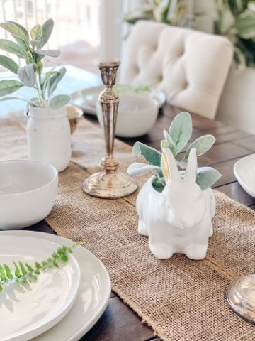 mesas decoradas sencillas para casa