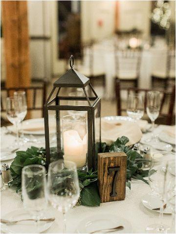 mesas decoradas sencillas para matrimonios