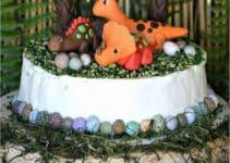 Hermosa tematica de dinosaurios para fiestas infantiles