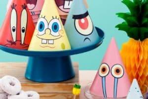 4 ideas para un cumpleaños de bob esponja