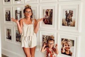 4 ideas para decoracion con fotos en paredes