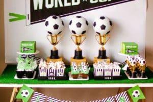 Ideas para una decoracion cumple de futbol