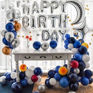 decoracion de fondo para cumpleaños de hombre