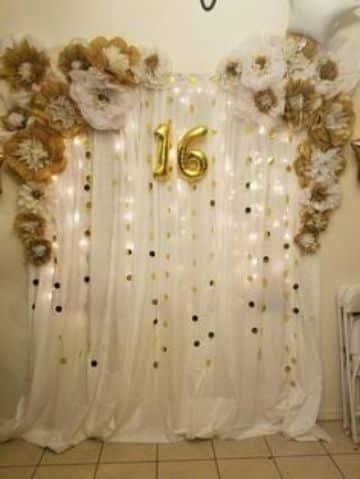 decoracion de fondo para cumpleaños de niñas