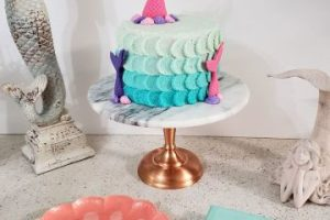 4 ideas de decoracion de sirenita para fiesta infantil