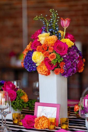 decoracion para 60 años mujer con flores