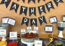Como hacer una decoracion para celebrar el dia del padre
